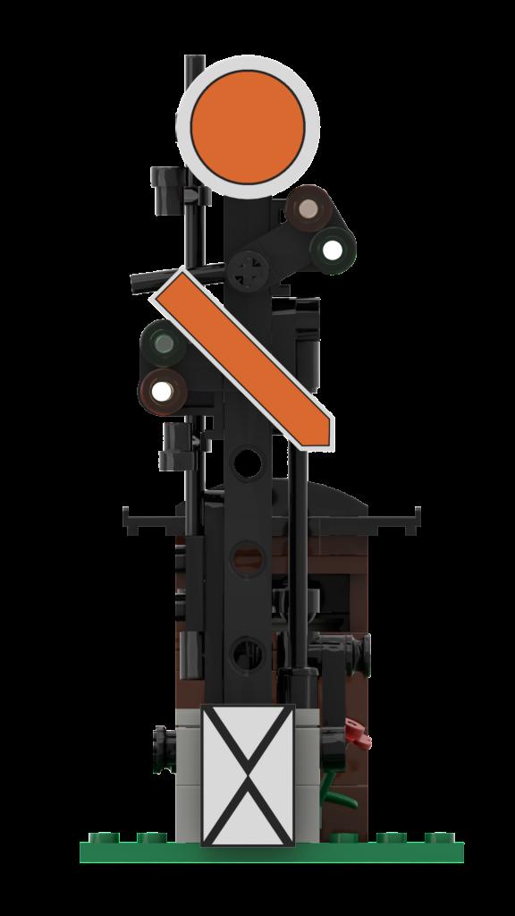 German semaphore pre-signal