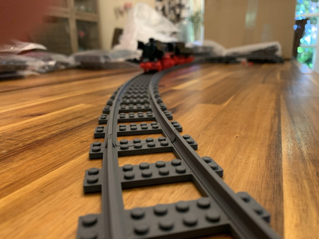 Large, LEGO compatible radius R184 curve (TrixBrix)